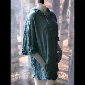 Gorgeous VS blue baiting suit cover!Front pockets!